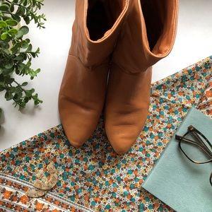 Shoes - ⋒ Gorgeous Cognac Leather Boots ⋒